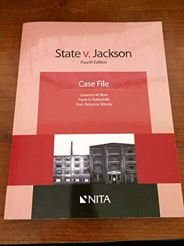 STATE V JACKSON-W/CD                    N/A 9781601563255 Front Cover