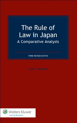 Rule of Law in Japan A Comparative Analysis 3rd 2012 (Revised) edition cover