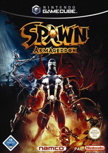 SPAWN ARMAGEDDON GameCube artwork