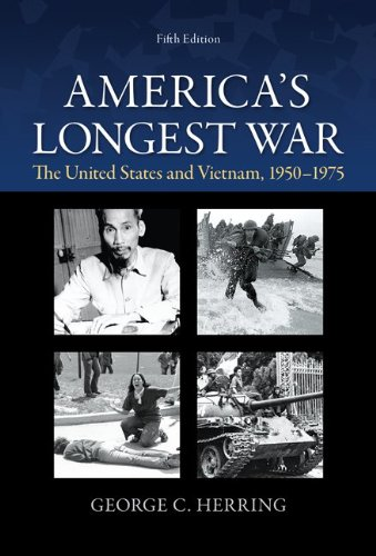 America's Longest War The United States and Vietnam, 1950-1975 5th 2014 edition cover