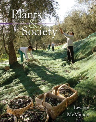 Plants and Society  5th 2008 edition cover