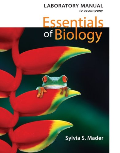 Lab Manual to accompany Essentials of Biology 2nd 2010 edition cover