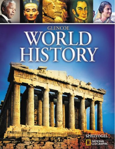 Glencoe World History, Student Edition   2008 (Student Manual, Study Guide, etc.) 9780078745256 Front Cover