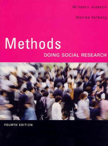 METHODS:DOING SOCIAL RSRCH. >C 4th 2007 edition cover