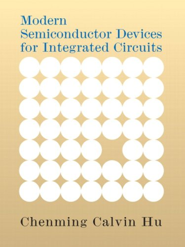Modern Semiconductor Devices for Integrated Circuits   2010 edition cover