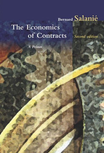 Economics of Contracts A Primer 2nd 2005 edition cover
