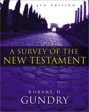 Survey of the New Testament  4th 2003 edition cover