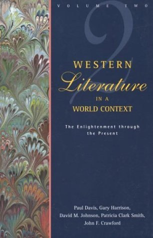 Western Literature in a World Context The Enlightenment Through the Present N/A edition cover