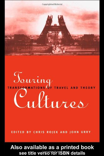 Touring Cultures Transformations of Travel and Theory  1997 edition cover