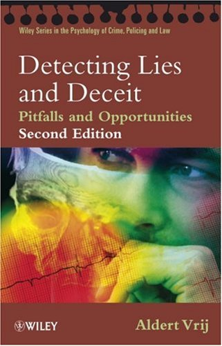 Detecting Lies and Deceit Pitfalls and Opportunities 2nd 2008 edition cover