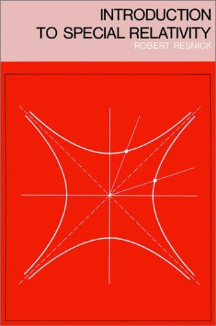 Introduction to Special Relativity   1968 edition cover