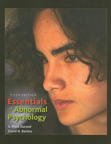 Essentials of Abnormal Psychology  5th 2010 edition cover