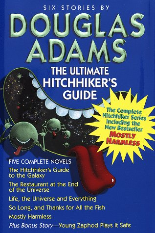 Ultimate Hitchhiker's Guide   1996 (Unabridged) edition cover