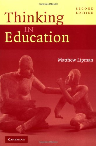 Thinking in Education  2nd 2003 (Revised) edition cover