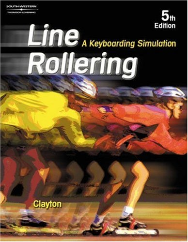 Line Rollering A Keyboarding Simulation 5th 2003 (Revised) 9780538434256 Front Cover