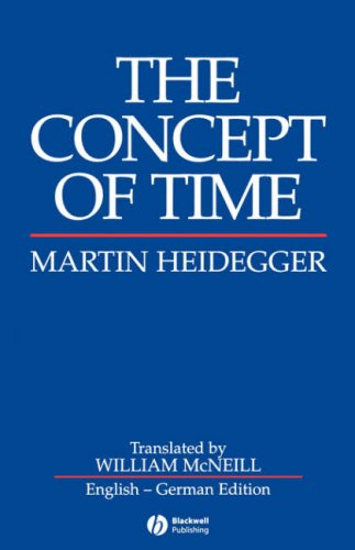 Concept of Time   1992 edition cover