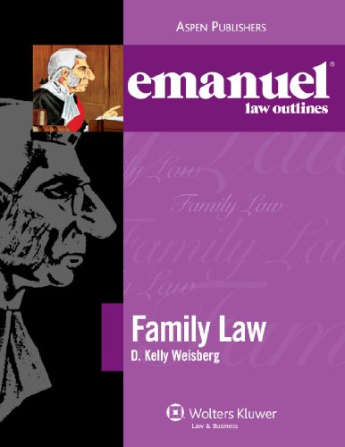 Family Law Aspen Roadmap Law Course Outline 2nd (Student Manual, Study Guide, etc.) edition cover