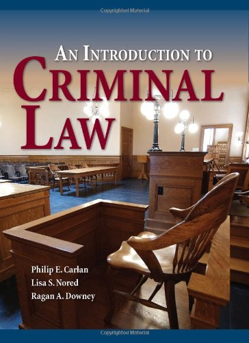 Introduction to Criminal Law   2011 (Revised) edition cover