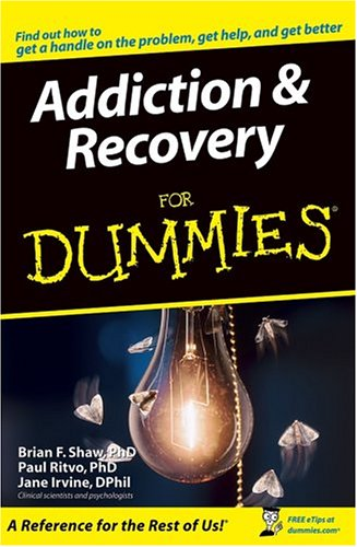Addiction and Recovery for Dummies   2005 edition cover