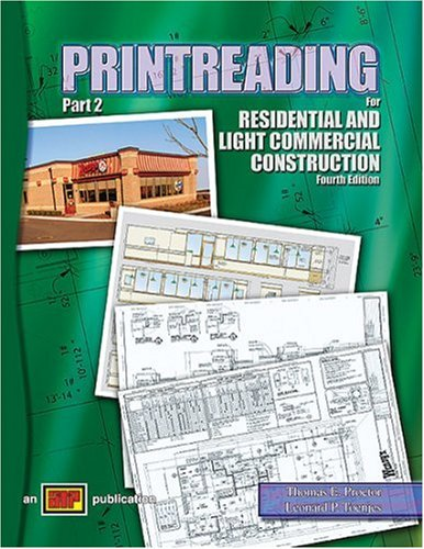 Printreading for Residential and Light Commercial Construction : Text 4th 2005 edition cover