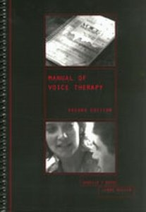 Manual of Voice Therapy  2nd 2000 edition cover