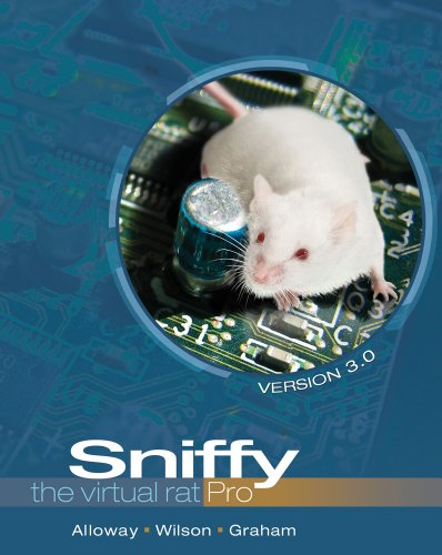 Sniffy the Virtual Rat Pro, Version 3. 0 (with CD-ROM)  3rd 2012 edition cover