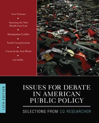 Issues for Debate in American Public Policy:   2013 edition cover