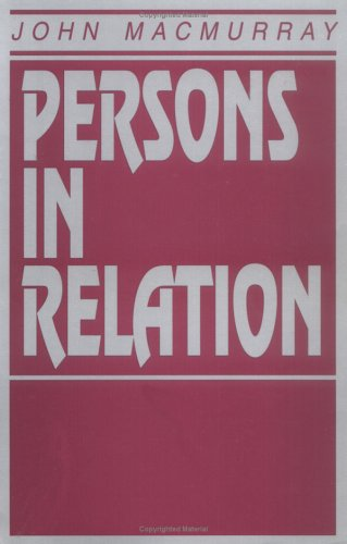 Persons in Relation   1999 edition cover