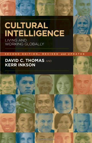 Cultural Intelligence Living and Working Globally 2nd 2009 edition cover