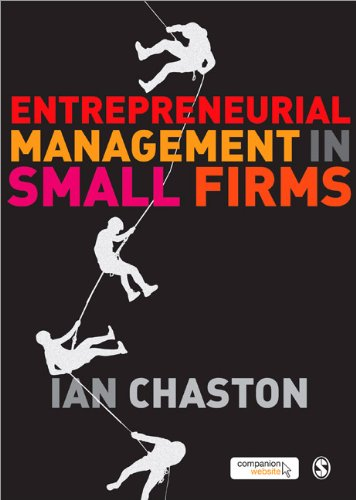 Entrepreneurial Management in Small Firms   2010 edition cover