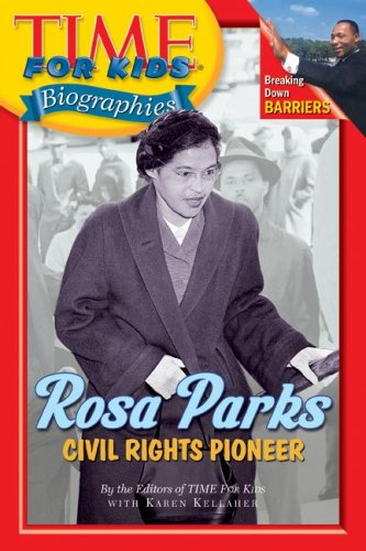 Rosa Parks Civil Rights Pioneer  2007 9780060576257 Front Cover