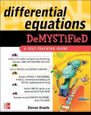 Differential Equations Demystified   2005 9780071440257 Front Cover