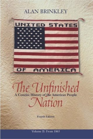 Unfinished Nation with PowerWeb  4th 2004 (Revised) edition cover