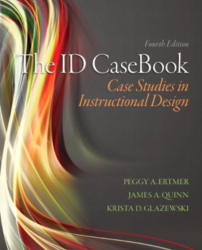 ID Casebook Case Studies in Instructional Design 4th 2014 edition cover