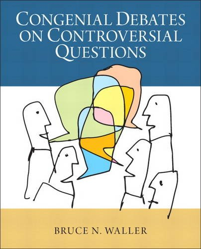 Congenial Debates on Controversial Questions   2014 edition cover