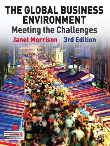 Global Business Environment Meeting the Challenges 3rd 2011 (Revised) edition cover