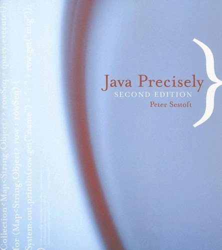 Java Precisely  2nd 2005 edition cover