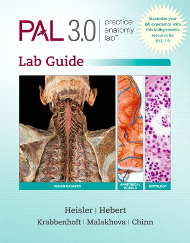 Practice Anatomy Lab 3.0   2014 edition cover
