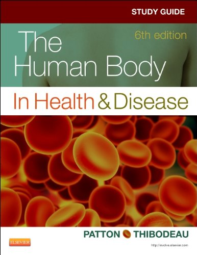 Study Guide for the Human Body in Health and Disease  6th edition cover
