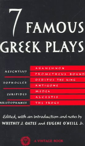 Seven Famous Greek Plays  N/A 9780394701257 Front Cover