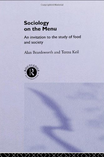 Sociology on the Menu An Invitation to the Study of Food and Society  1996 edition cover