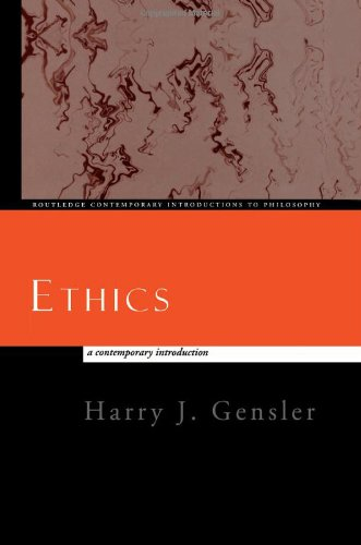 Ethics Contemporary Introduction  1998 edition cover