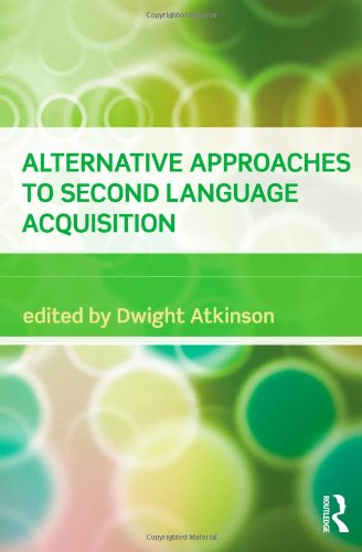Alternative Approaches to Second Language Acquisition   2011 edition cover