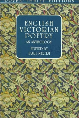 English Victorian Poetry An Anthology  1999 edition cover