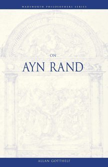 On Ayn Rand   2000 9780534576257 Front Cover