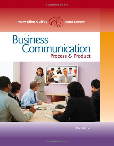 Business Communication Process and Product 7th 2011 9780538466257 Front Cover