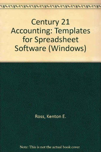 Century 21 Accounting 7e Templates  7th 2000 9780538677257 Front Cover