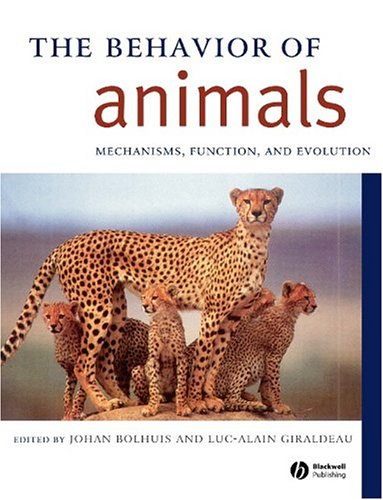 Behavior of Animals Mechanisms, Function and Evolution  2004 9780631231257 Front Cover