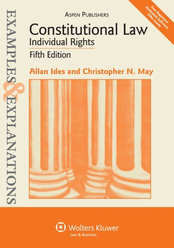 Constitutional Law Individual Rights 5th 2010 (Student Manual, Study Guide, etc.) edition cover