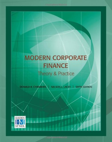Modern Corporate Finance Theory and Practice 6th edition cover